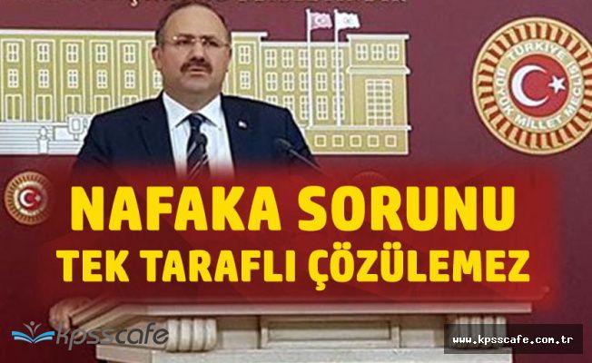AK Partili Deligöz : Nafaka Konusu Tek Taraflı Çözülecek Bir Süreç Değildir