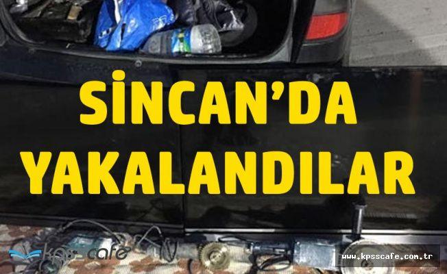 Ankara Sincan'da Yakalandılar! Hırsızı Duyunca Şok Oldu!