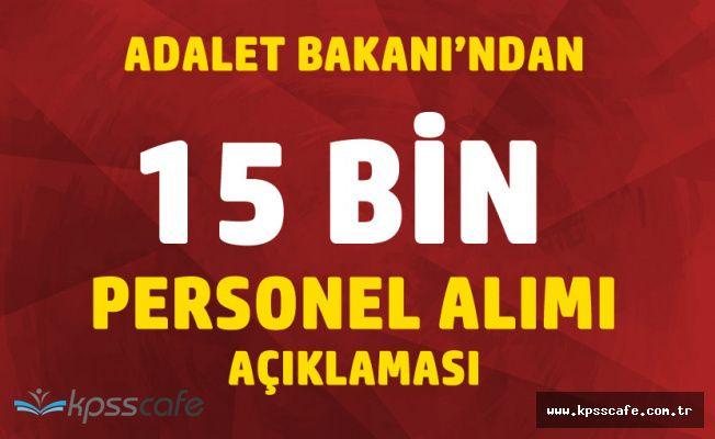 Bakan Gül'den 15 Bin Kamu Personeli Alımı Paylaşımı