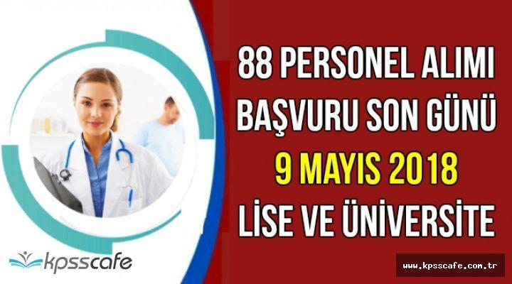 Selçuk Üniversitesi 88 Personel Alımı Başvurusu İçin Son Gün: 9 Mayıs 2018