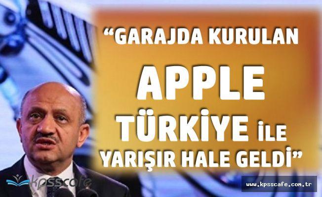 Işık: Garajda Kurulan Apple Türkiye ile Yarışır Hale Geldi