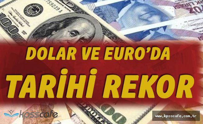 Dolar ve Euro'da Tarihi Rekor! 15 Mayıs Dolar - Euro Fiyatları