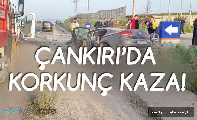 Çankırı'da Kahreden Kaza! 4 Kardeş'ten 3'ü Öldü, 1'i Ağır Yaralı