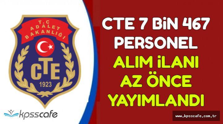CTE 7467 Kamu Personel Alım İlanı Yayımlandı (İKM, Katip, Teknisyen, Destek Personeli)