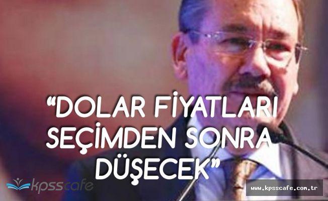 Eski Ankara Büyükşehir Belediye Başkanı: Dolar Seçimden Sonra Düşecek