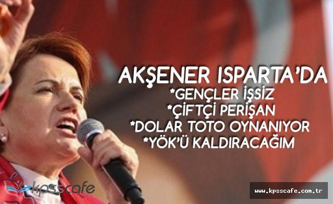 Cumhurbaşkanı Adayı Meral Akşener: Gençler İş Bulamıyor, Atanamıyor , Çiftçi Perişan, Dolar TOTO Oynanıyor