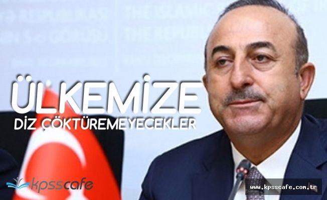 Dışişleri Bakanı: Döviz Kuru Oyunlarıyla Yıkılacak Bir Ülke Değiliz