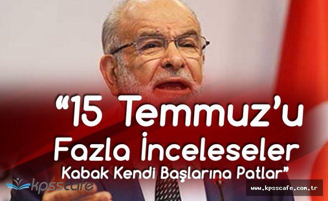 Cumhurbaşkanı Adayı Karamollaoğlu: Fazla İncelerlerse Kabak Kendi Başlarına Patlar
