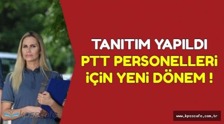 Tanıtımı Yapıldı: PTT Personellerinde Yeni Dönem