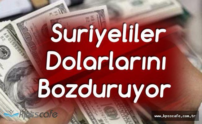 Suriyeliler Dolar Bozdurarak Kampanyaya Destek Oldu