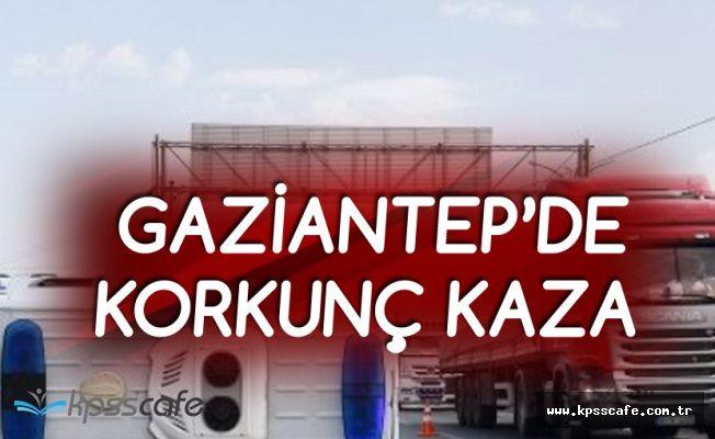 Gaziantep'te Ambulans ile Otomobil Çarpıştı! 4 Kişi Yaralandı