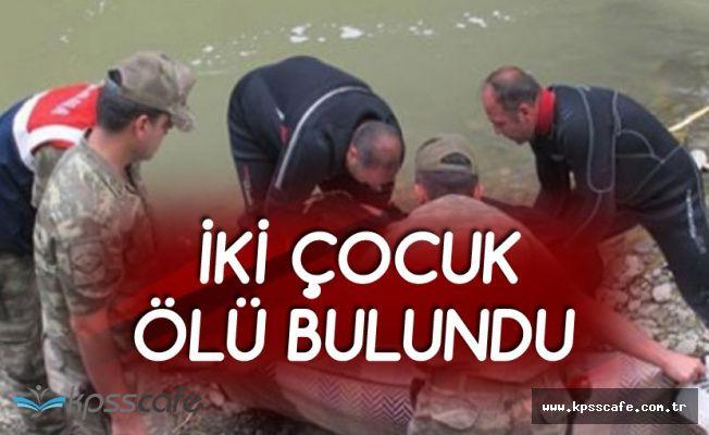 Bursa Mustafakemalpaşa'da 2 Çocuk Cesedi Bulundu