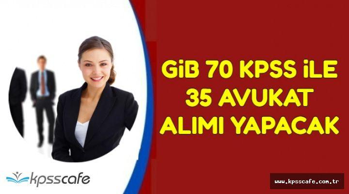GİB Az Önce Yayımladı: 70 KPSS ile 25 Kamu Personel Alımı Yapılacak