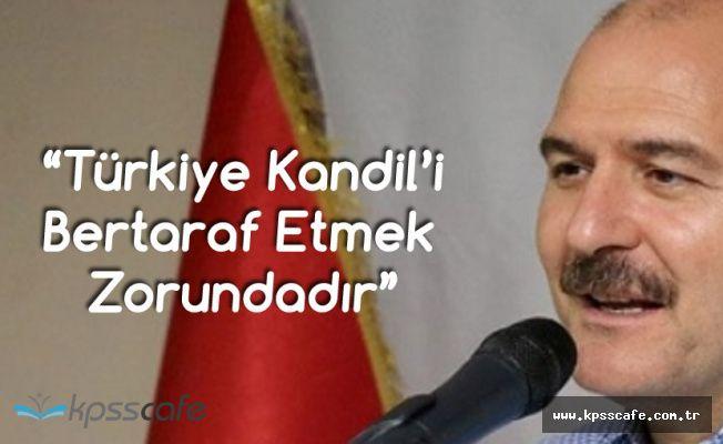 İçişleri Bakanı: Kandil Bize Uzak Değil