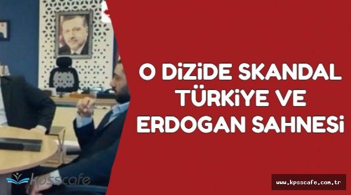 O Dizide Skandal Türkiye ve Erdoğan Sahnesi