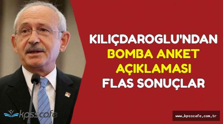 Kılıçdaroğlu Anket Sonucunu Açıkladı: Oy Oranında Bomba Değişim