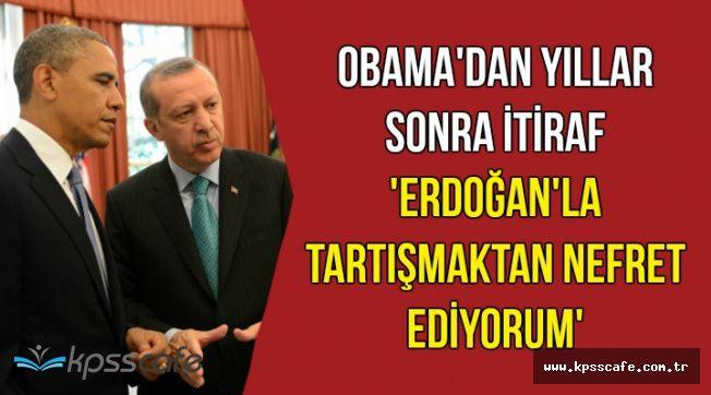 Obama'nın Erdoğan İtirafı Yıllar Sonra Ortaya Çıktı
