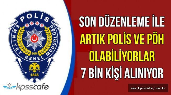 Polis ve PÖH Olabiliyorlar ! Polis Akademisi 7 Bin Bekçi Alımı Yapıyor
