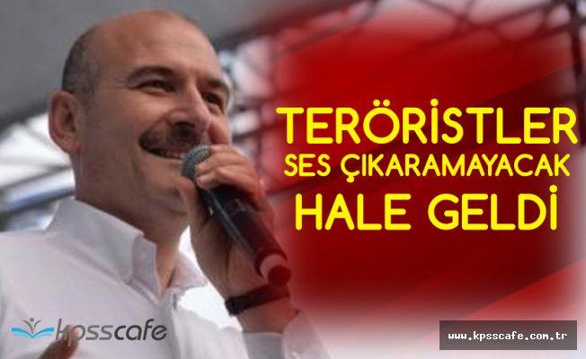İçişleri Bakanı: PKK Sesini Çıkaramayacak Hale Geldi