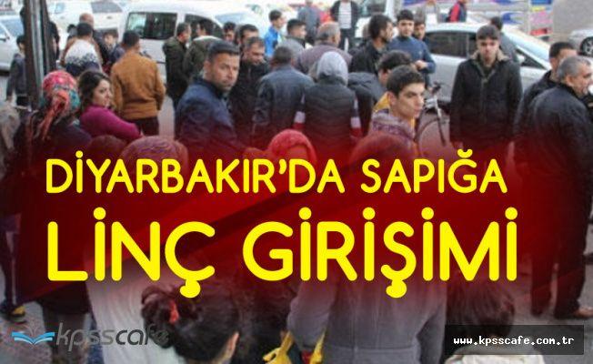 Diyarbakır'da Tacizciyi Linç Ediyorlardı! Son Anda Kurtuldu