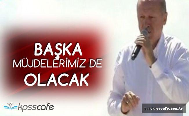 Cumhurbaşkanı Erdoğan: Kandil'i Bombalıyoruz, Başka Müjdeler de Vereceğiz