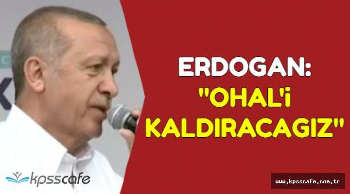 Erdoğan'dan Kritik OHAL ve Menbiç Açıklaması