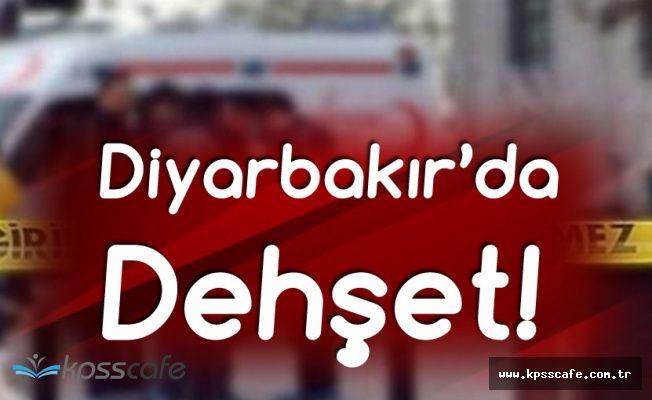 Diyarbakır'da Dehşet! Eşini Bıçaklayıp, İntihar Etti!