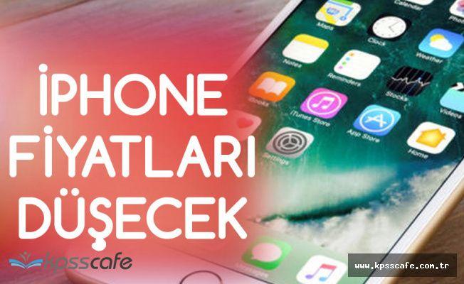 Apple iPhone Fiyatları Düşecek