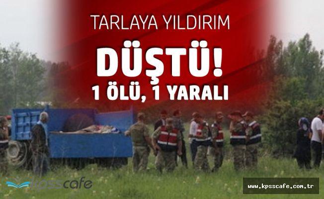 Konya'da Yıldırım Faciası! Gençlerin Üzerine Düştü! 1 Ölü, 1 Yaralı