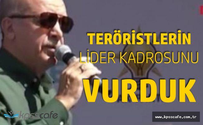 Cumhurbaşkanı Erdoğan: Kandil'de Teröristlerin Lider Kadrosu Vuruldu