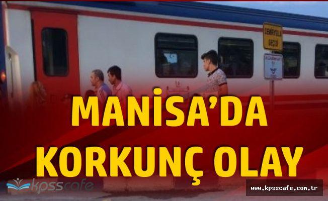 Manisa'da Korkunç Olay! 19 Yaşındaki Kıza Tren Çarptı