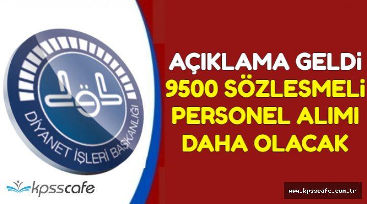 Açıklama Az Önce Geldi: DİB 9500 Yeni Kamu Personel Alımı Yapacak