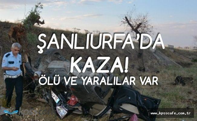 Son Dakika: Şanlıurfa'da Korkunç Kaza! Ölü ve Yaralılar Var