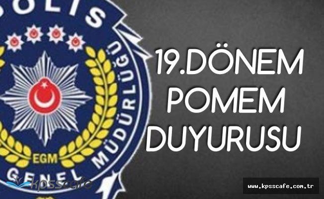 Polis Akademisinden 19. Dönem POMEM Açıklaması