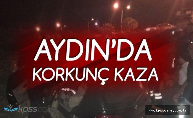Aydın'da Otomobil Devrildi! 1 Kişi Hayatını Kaybetti