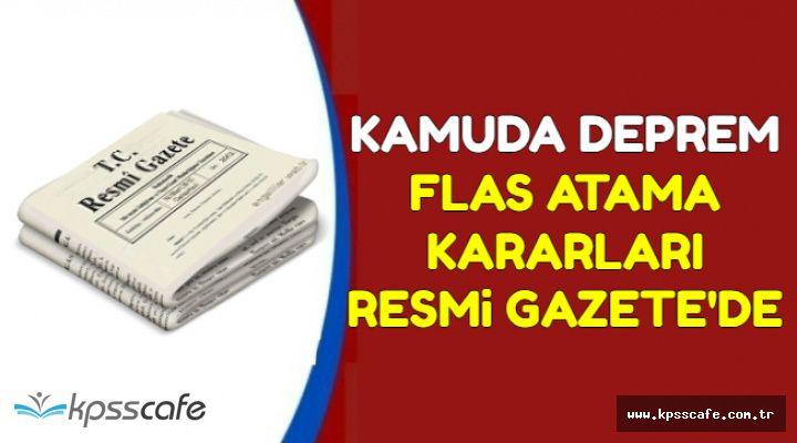 Önemli Atama Kararları Resmi Gazete'de