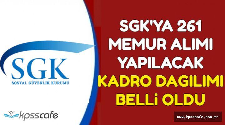 SGK'ya 261 Memur Alımı Daha Yapılacak-Kadro Dağılımı Resmi Gazete'de