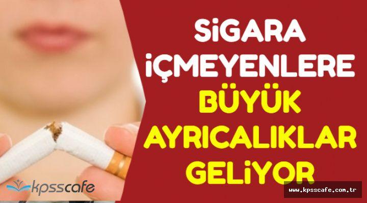 Sigara İçmeyenlere Ekstra Yıllık İzin ve Mesaiden Erken Çıkma (Sigara Satış Yaşı 21 Oluyor)