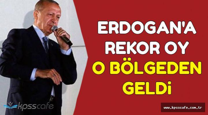 Erdoğan'a Rekor Oy O İlçe'den Çıktı