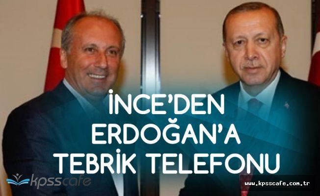 Muharrem İnce'den Cumhurbaşkanı Erdoğan'a Tebrik Telefonu