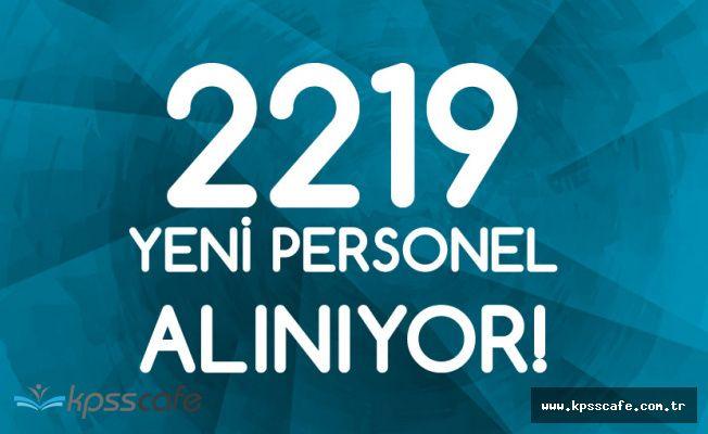 2219 Sözleşmeli Personel Alımı Başvuruları 4 Temmuz'da Sona Erecek