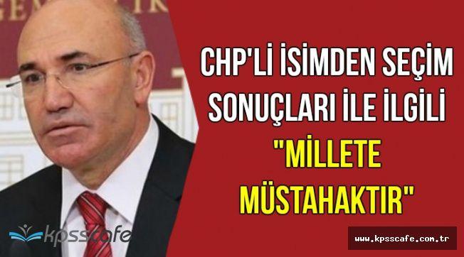 """CHP'li İsimden Seçmenlere Sert Sözler: """"Millete Müstahak"""""""