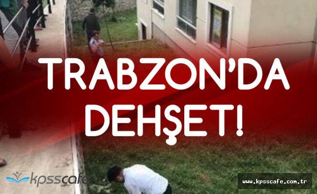 Trabzon'da Korkunç Olay! 2 Yaşındaki Çocuk 11. Kattan Düştü