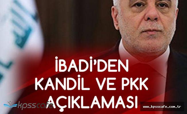 Irak Başbakanı'ndan PKK ve Kandil Açıklaması