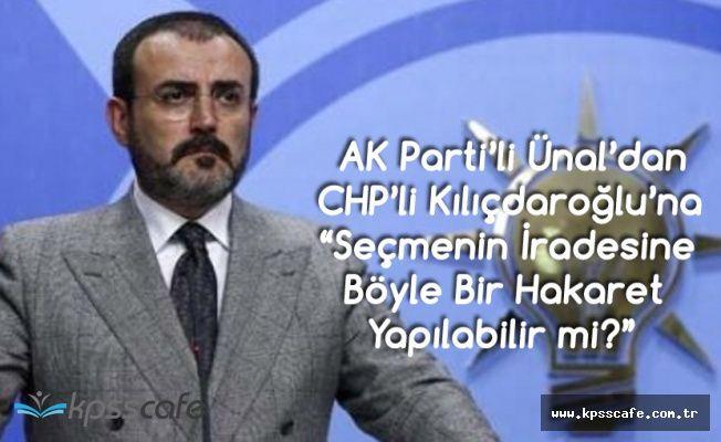Mahir Ünal'dan CHP Liderine : Dokuzuncu Yenilgisini Aldı Ama Hala...
