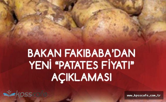 Fakıbaba : 50 Kuruş Olan Patates Fiyatını 6 Liraya Çıkardılar