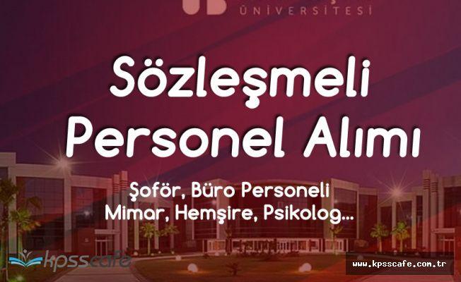 İzmir Bakırçay Üniversitesi Büro Personeli, Şoför , Hemşire, Mimar ve Tekniker Alacak