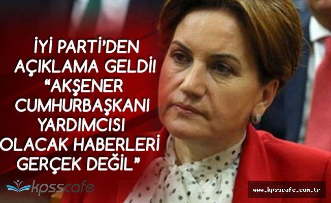 Aytun Çıray Açıkladı : 'Meral Akşener Cumhurbaşkanı Yardımcısı Olacak' Haberleri Gerçek Değil