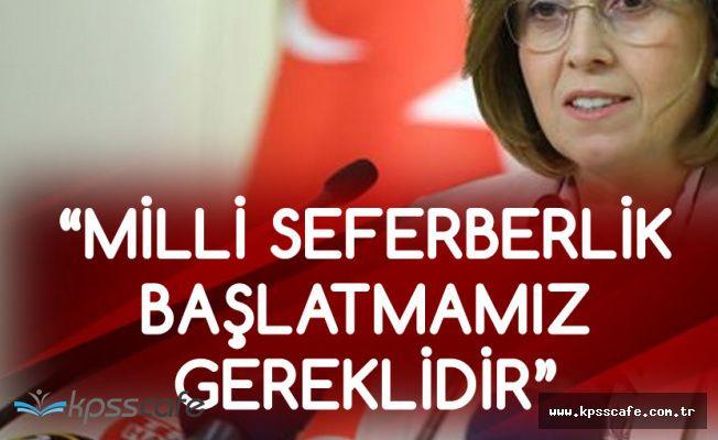 MHP'den Flaş Açıklama! 'Milli Sefeberlik Başlatmamız Gereklidir'