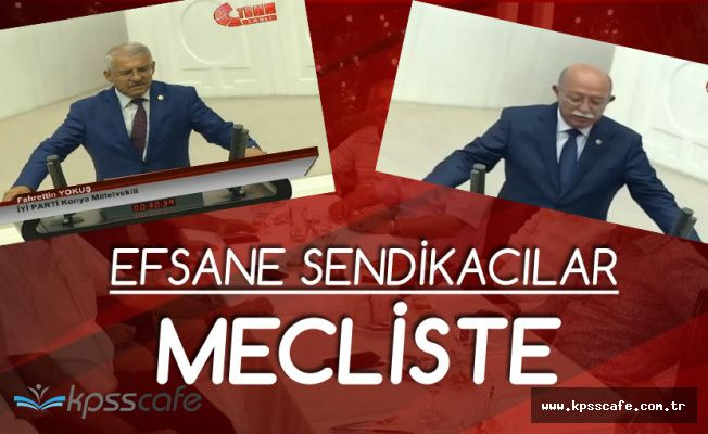 Fahrettin Yokuş ve İsmail Koncuk Milletvekili Yemini Etti